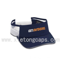 Visor Cap with Embroidery and Sandwich(JRV030)